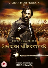 THE SPANISH  MUSKETEER DVD