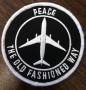 PEACE THE OLD FASHIONED WAY PATCH