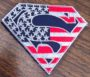 superman flag patch