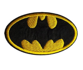 BATMAN EMB PATCH
