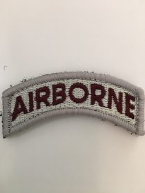 AIRBORNE TAB PATCH EMBROIDERED