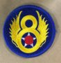 8th airforce round patch