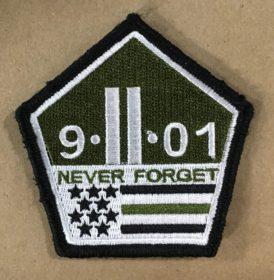 9-11 green strip patch