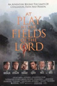 AT PLAY IN THE FIELDS OF THE LORD DVD