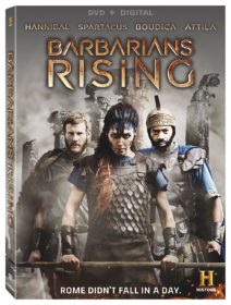 BARBARIANS RISING DVD