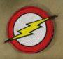 DC Comics Flash Lightning Bolt Logo Emblem patch
