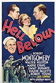 HELL BELOW DVD