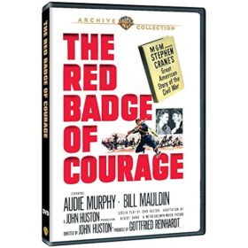 RED BADGE OF COURAGE AUDIE MURPHY DVD