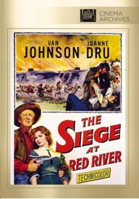 SIEGE AT RED RIVER DVD