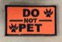 do not pet patch