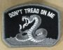 don't tread on me (grays) patch