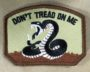 don't tread on me (tan and browns) patch