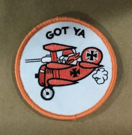 red baron patch