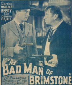 BAD MAN OF BRIMSTONE DVD