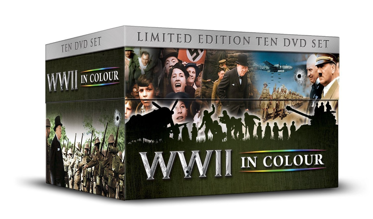 WWII IN COLOUR - DVD