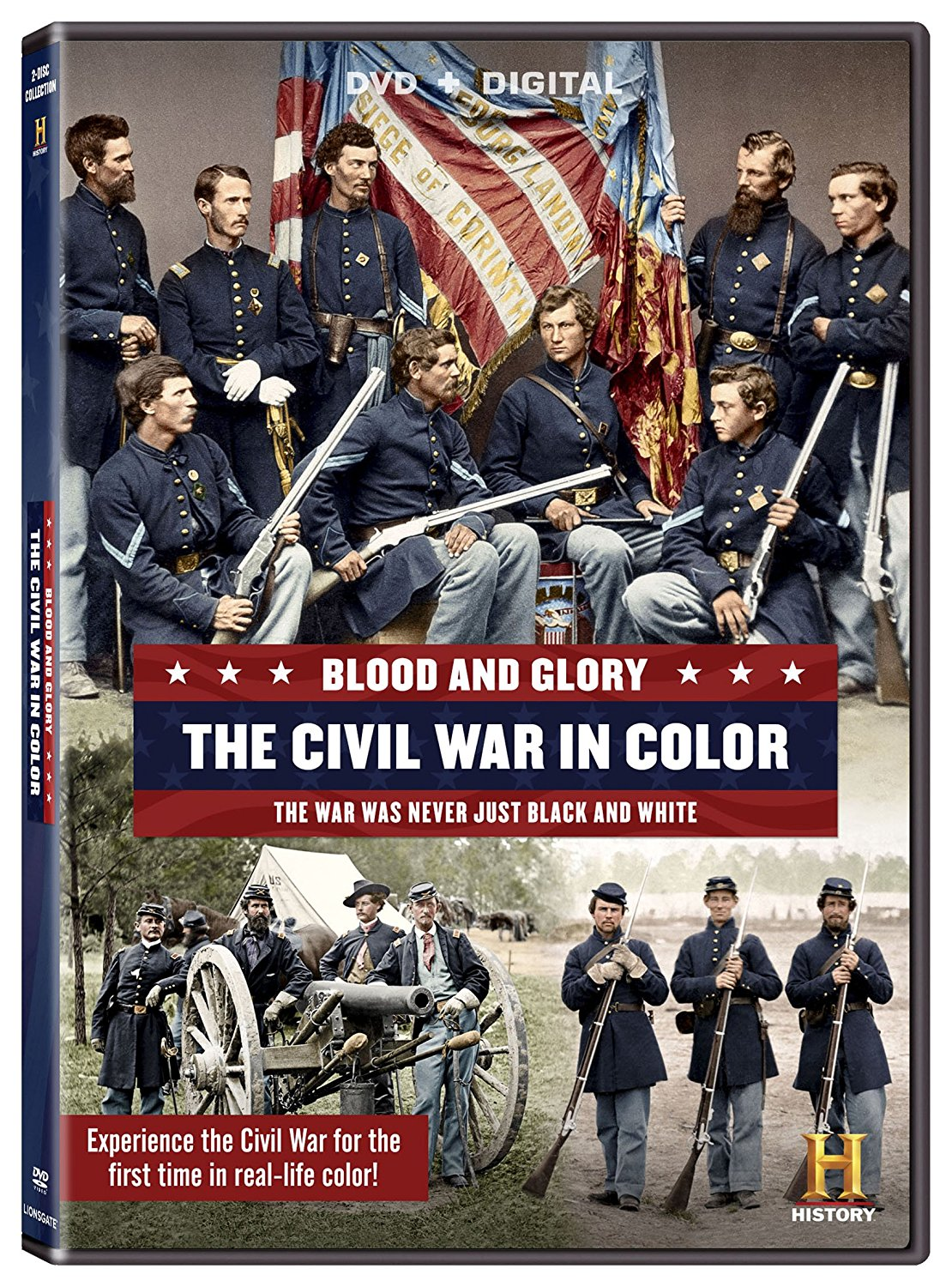 CIVIL WAR IN COLOR - DVD
